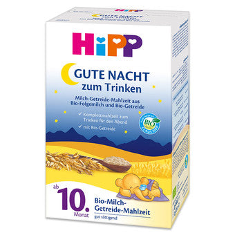Hipp ORGANIC GOOD NIGHT 10 Months & up (Gute Nacht Milch)