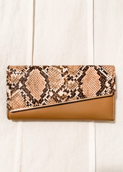 Small Snakeskin Clutch
