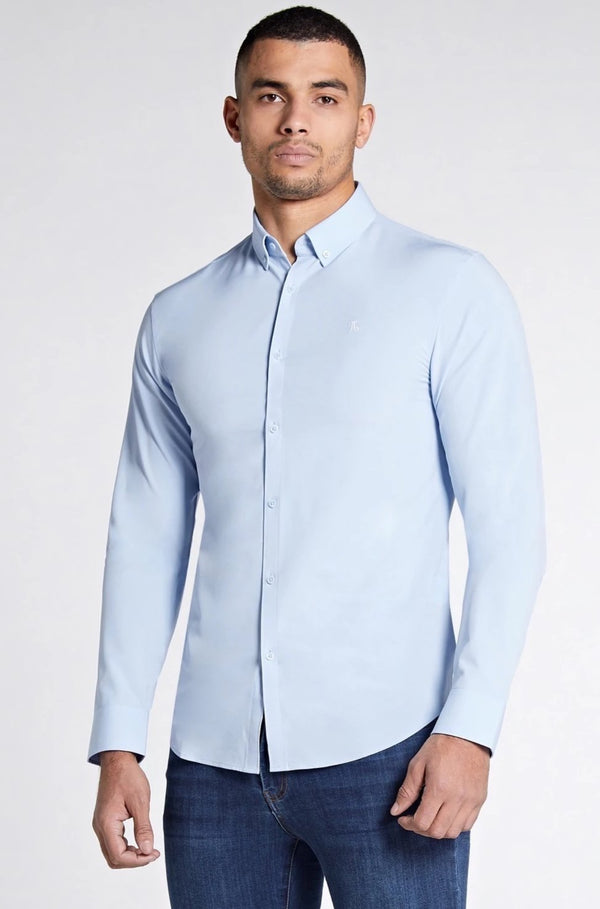 Elite Signature Shirt in Light Blue