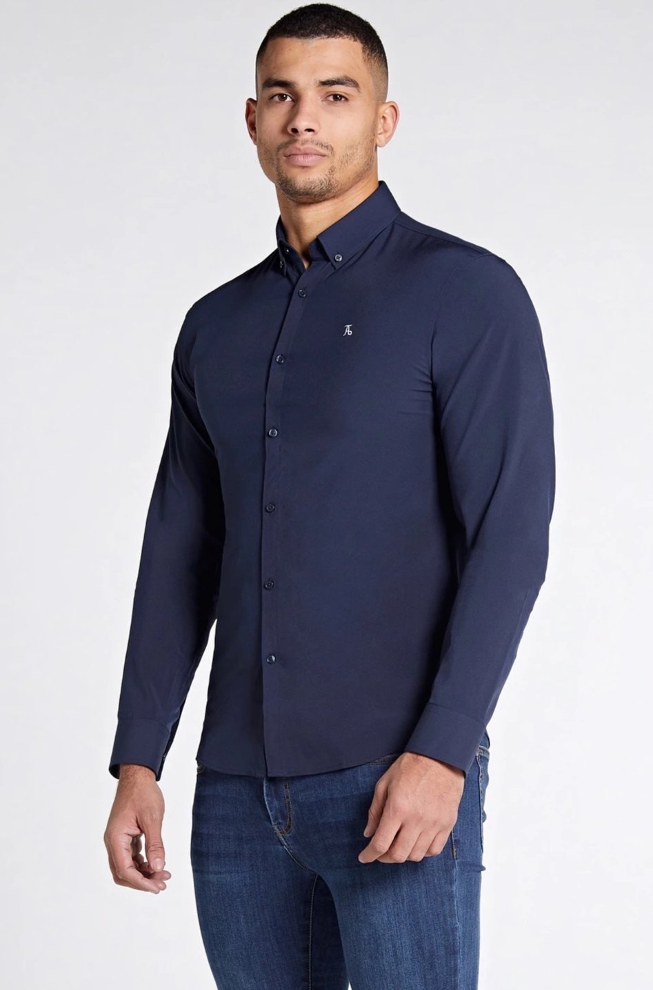 Elite Signature Shirt in Navy