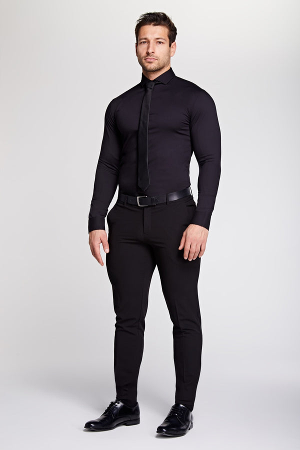 Elite Bamboo Shirt in Black