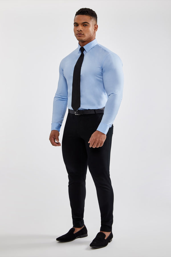 f303c21a Essential Dress Shirt in White – TAILORED ATHLETE
