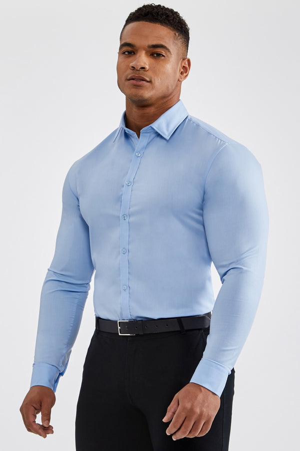 Essential Dress Shirt in Light Blue