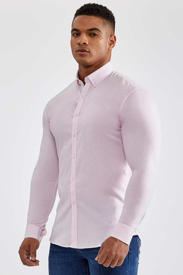 Premium Oxford Shirt in Light Pink