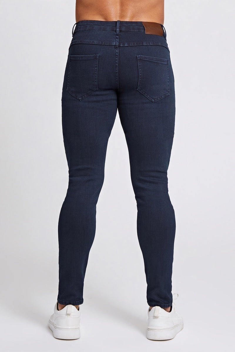 Premium Stretch Jeans in Indigo