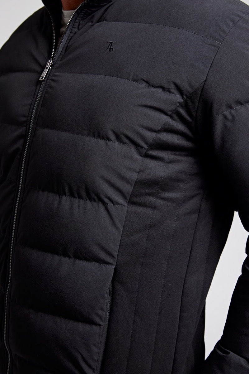 Padded Jacket in Black