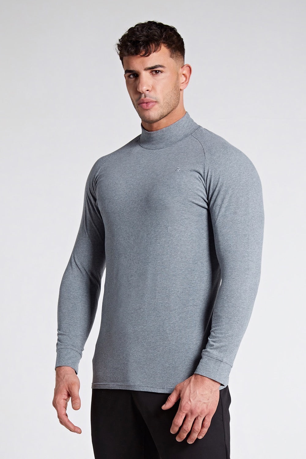 Turtle Neck in Grey