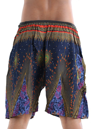 Illusions (Blue) - Buy Harem Pant / Hippie Pants / Boho Pants / online by The Veshti Company