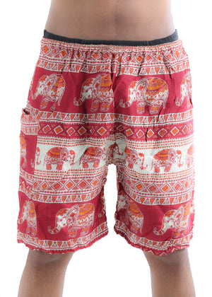 Kandula (Red) - Buy Harem Pant / Hippie Pants / Boho Pants / online by The Veshti Company