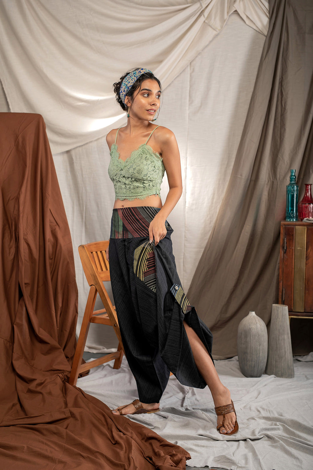 Bladebreaker - Buy Harem Pant / Hippie Pants / Boho Pants / online by The Veshti Company