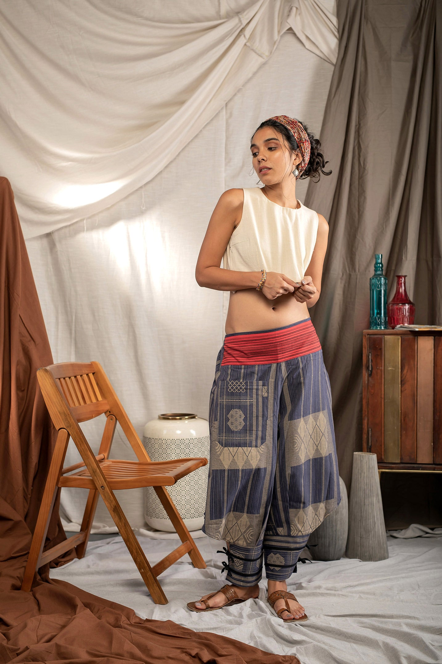 Winged Bolt - Buy Harem Pant / Hippie Pants / Boho Pants / online by The Veshti Company