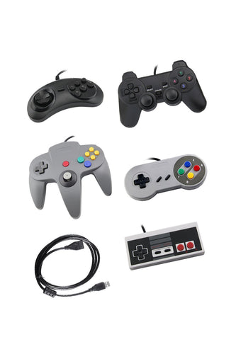 Five USB controllers- One of each classic