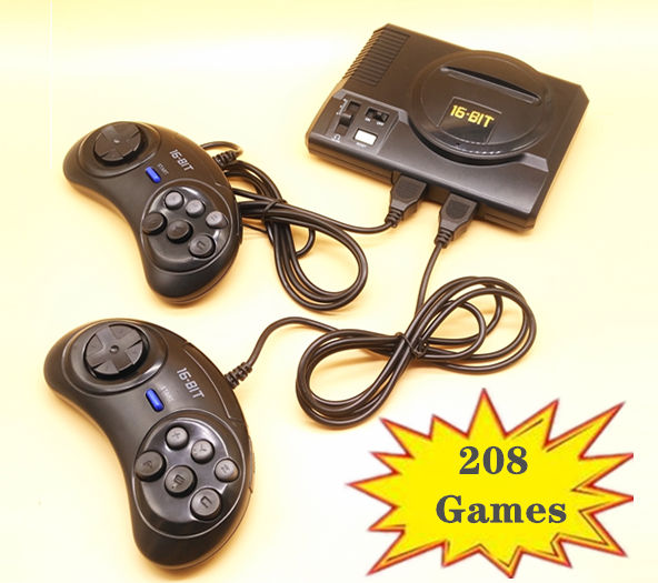 SEGA MEGA MINI -  208 Games