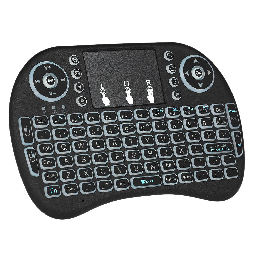 Wireless Mini Keyboard Touchpad Mouse