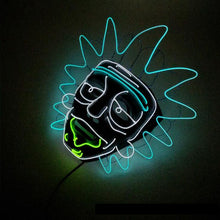 LED Rick and Morty Mask