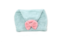 (Retail) Coral Fleece Shower Hair Wrap - Slumber Party
