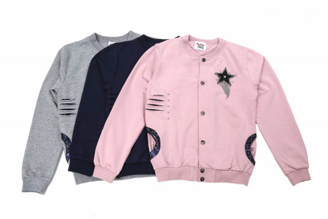 (Retail) Signature Collection#1 Tween Girls 2pc Tracksuit Top & Bottom Joggers 7-12yrs - Slumber Party