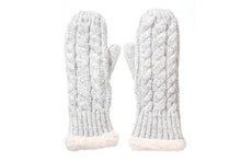 (wholesale)Wool Blend Mitts - Slumber Party