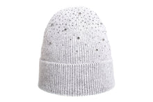 (wholesale)Angora Beanie with Cubic zirconia - Slumber Party