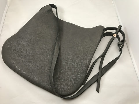 Gray Crossbody Handbag