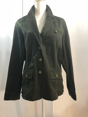 Jones Wear Hunter Green Jacket Size XL