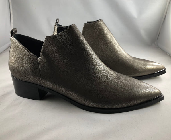 Marc Fisher LTD Pewter Bootie Size 11M