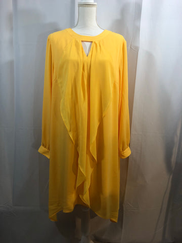 Thalia Sodi Yellow Dress Size XXL