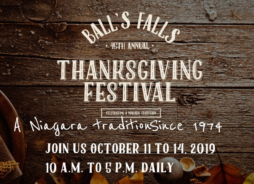 Ball's Falls Thanksgiving Festival: CHANGED TO ONLINE FORMAT