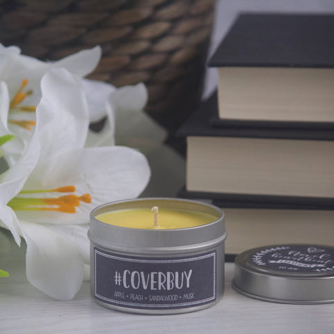#COVERBUY SOY CANDLE TIN