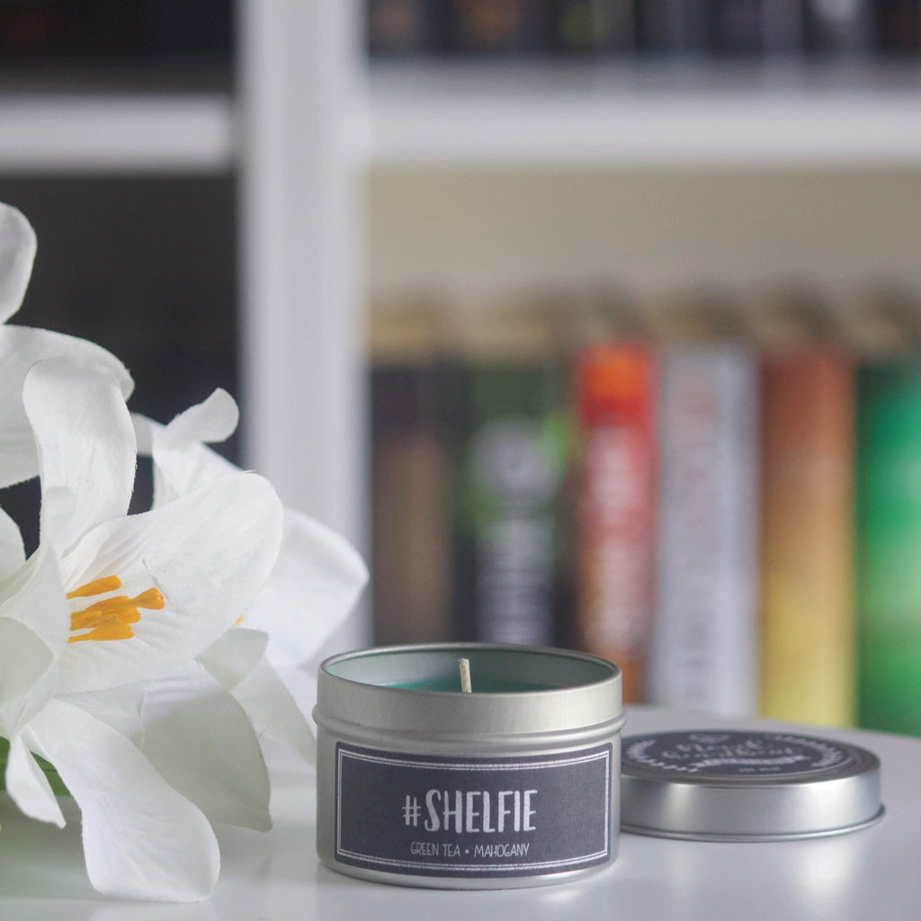 #SHELFIE SOY CANDLE TIN