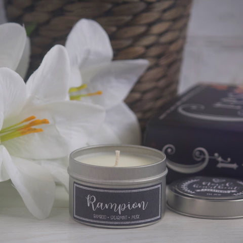 RAMPION SOY CANDLE TIN INSPIRED BY THE LUNAR CHRONICLES