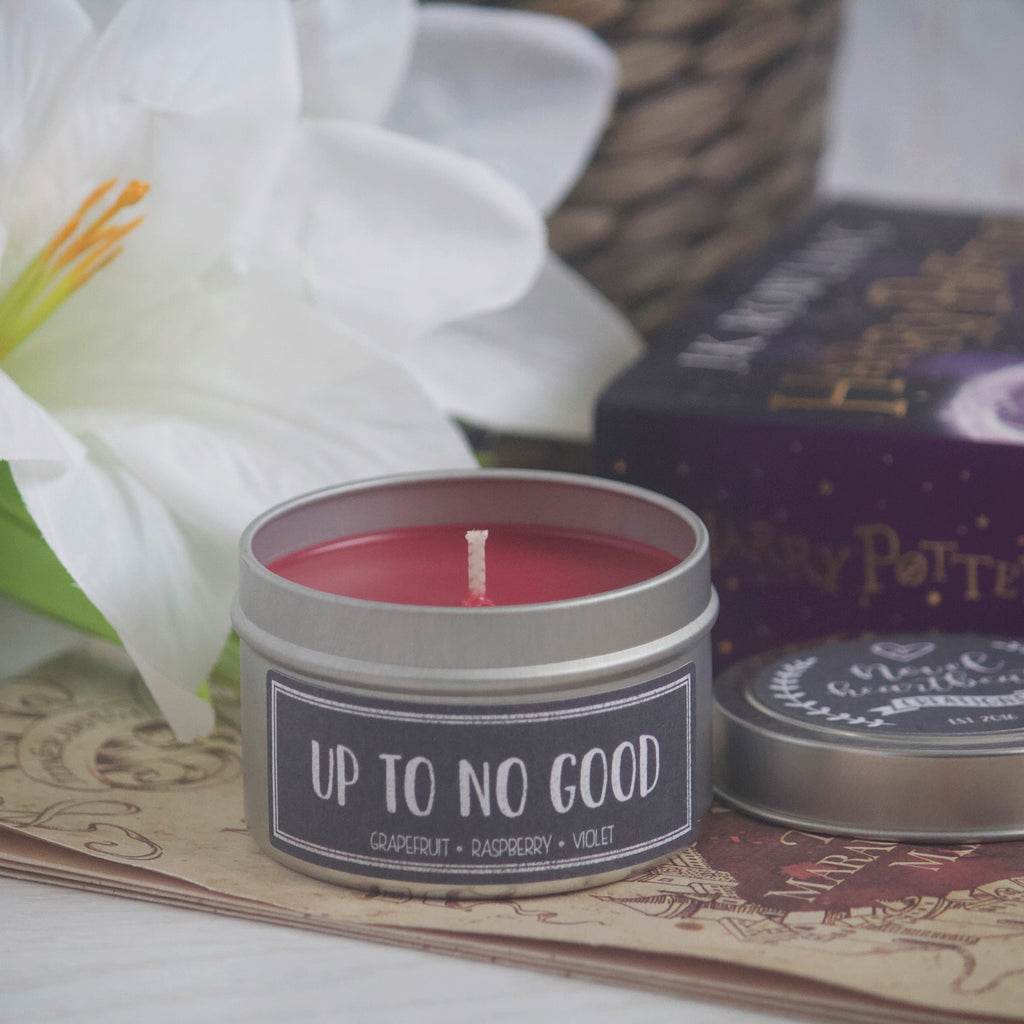 UP TO NO GOOD SOY CANDLE TIN