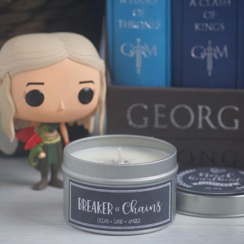 BREAKER OF CHAINS SOY CANDLE TIN