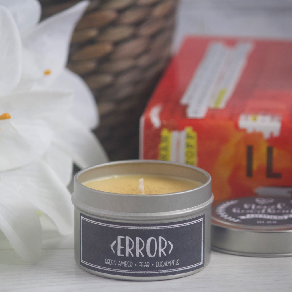 < ERROR > SOY CANDLE TIN INSPIRED BY ILLUMINAE