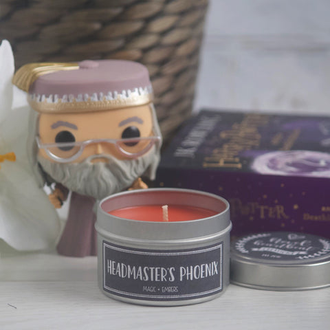HEADMASTER'S PHOENIX SOY CANDLE TIN