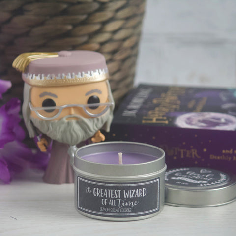 THE GREATEST WIZARD OF ALL TIME SOY CANDLE