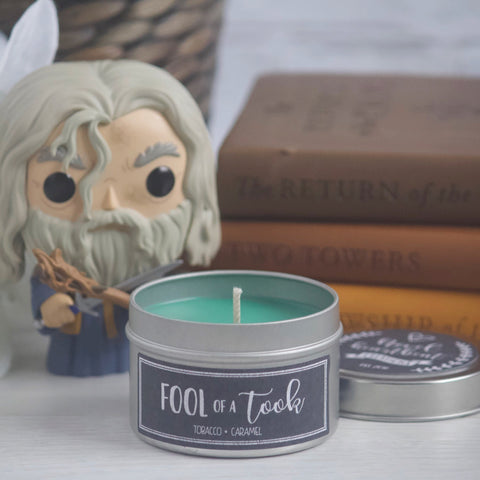 FOOL OF A TOOK SOY CANDLE TIN