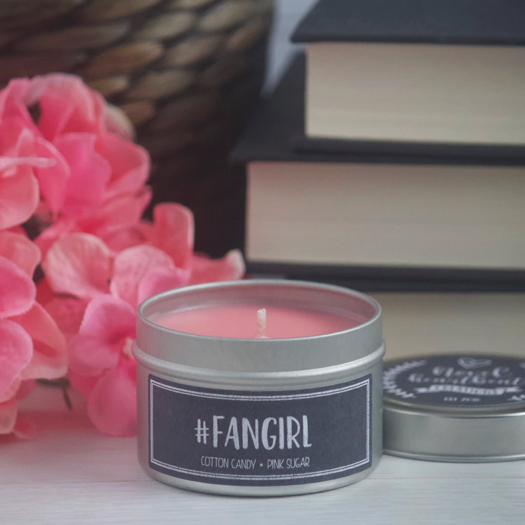 #FANGIRL SOY CANDLE TIN