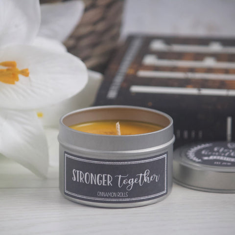 STRONGER TOGETHER SOY CANDLE TIN INSPIRED BY LIFEL1K3