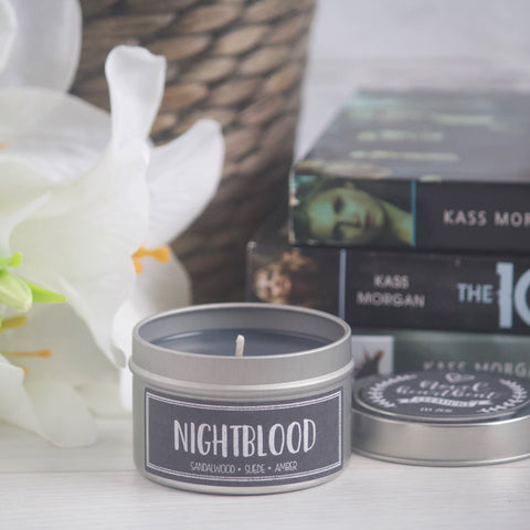 NIGHTBLOOD SOY CANDLE TIN INSPIRED BY THE 100