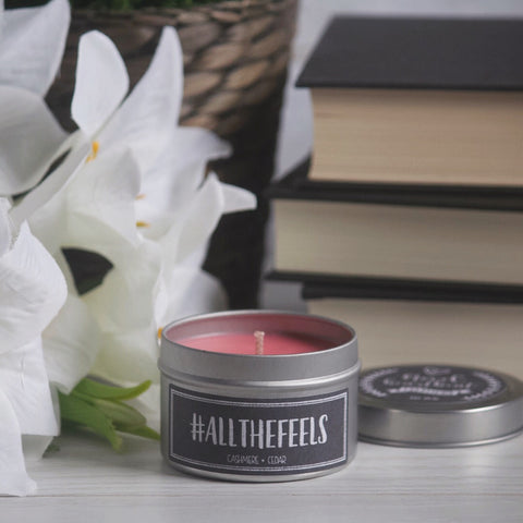 #ALLTHEFEELS SOY CANDLE TIN