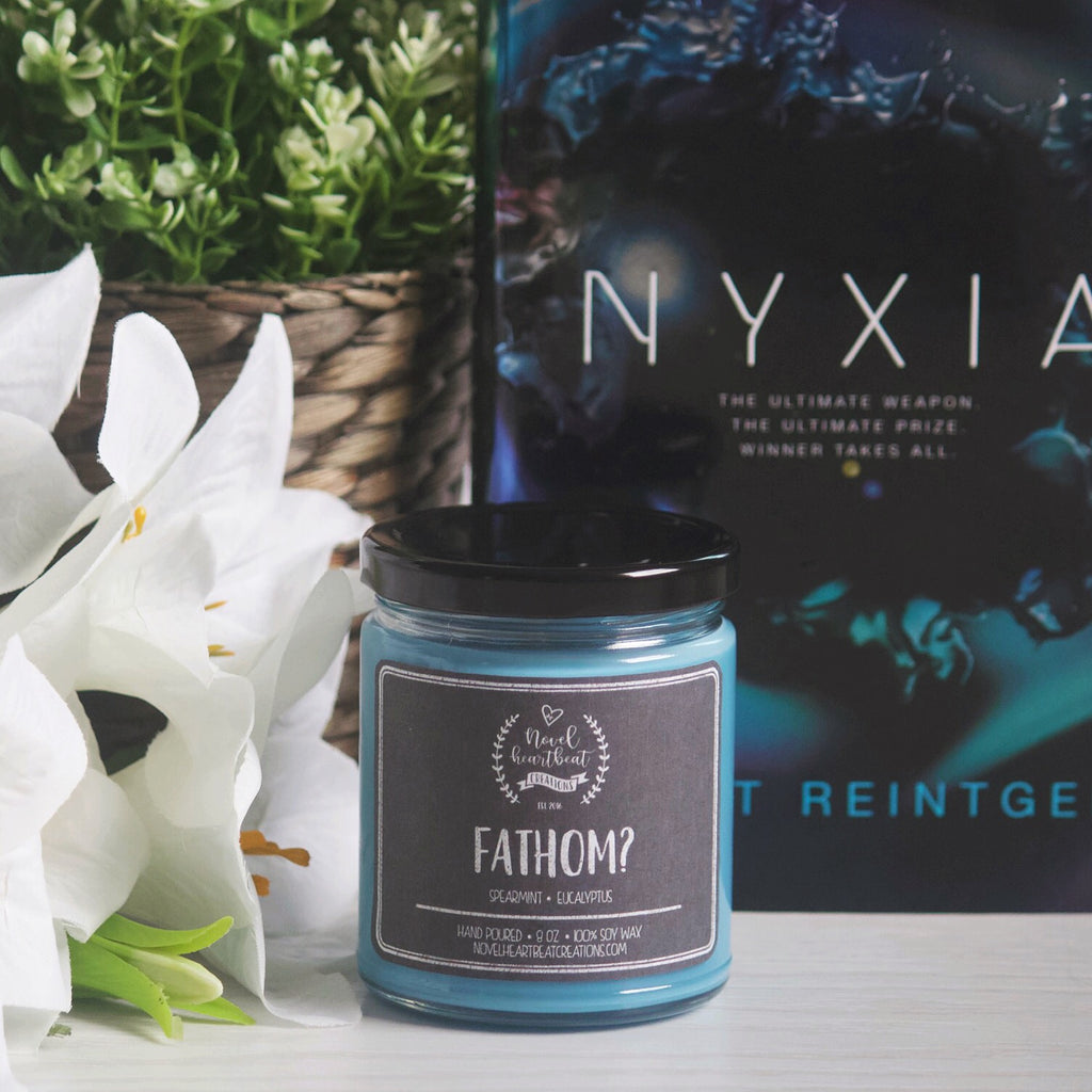 JULY CANDLE OF THE MONTH | FATHOM? 8 OZ SOY JAR CANDLE INSPIRED BY NYXIA