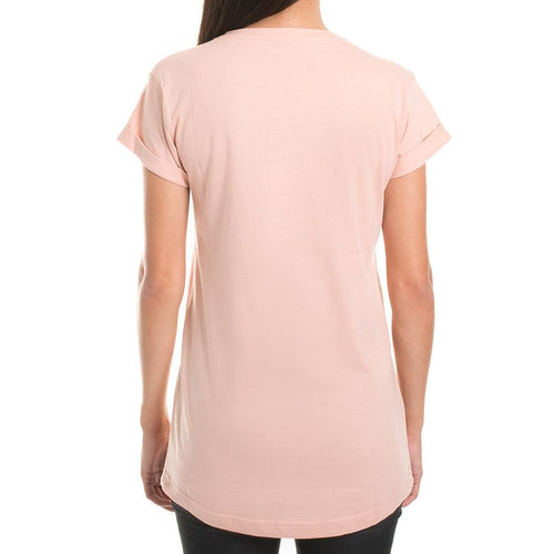 EMBROIDERY SPENT TEE - PEACH