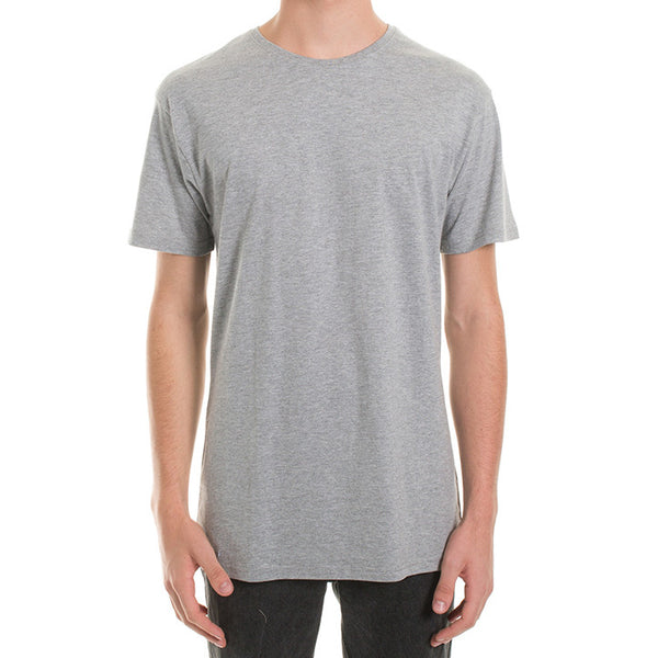 BASIC TEE - GREY MARLE