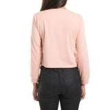 LONGSLEEVE CROP - PEACH