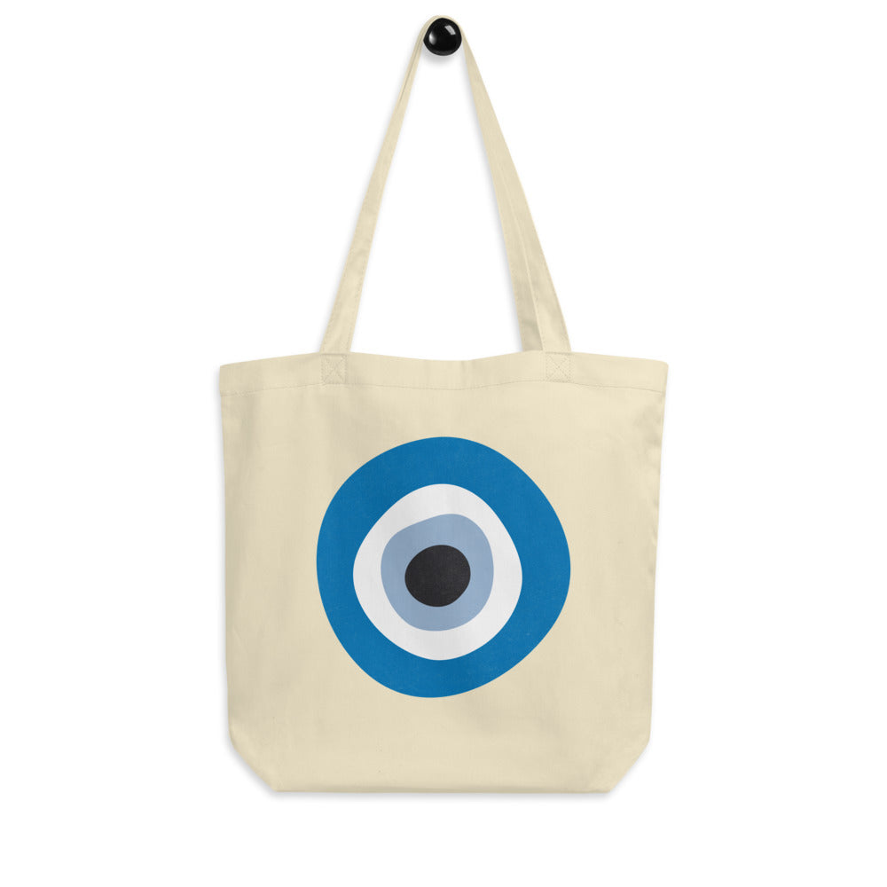 Evil Eye - Large Organic Tote Bag (more colors)