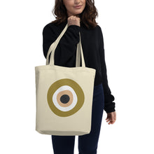 Load image into Gallery viewer, Evil Eye - Large Organic Tote Bag (more colors)