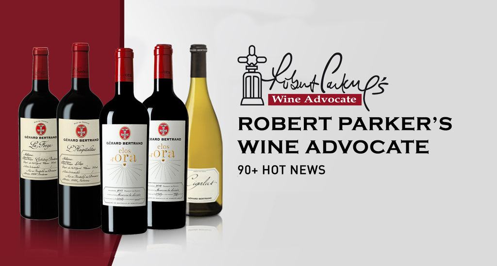 Gérard Bertrand wines remarkably rated by Robert Parker