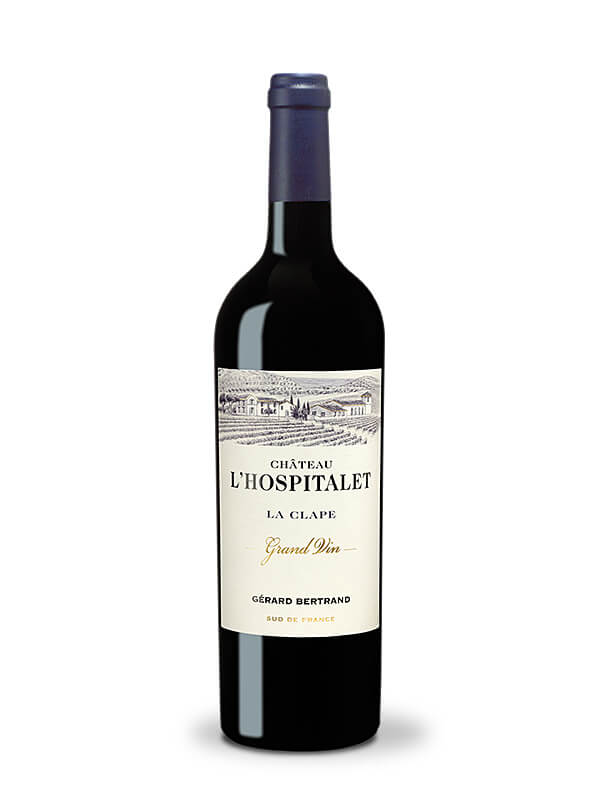 chateau l'hospitalet grand vin red la clape 2018 bio biodynamic wine gold decanter 95 IWSC