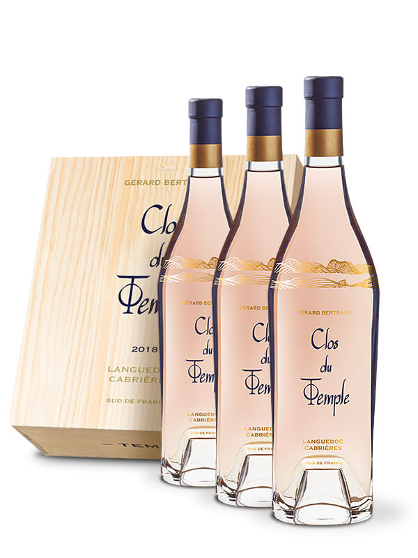 Clos du Temple 2019 - Wooden Case 3 Bottles